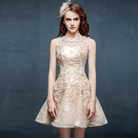 ball stretching pictures - 2015 Cool Style Homecoming Dresses A line Jewel Straps Short Mini Applique Stretch Satin And Tulle Sleeveless Prom Party Cocktail Gowns