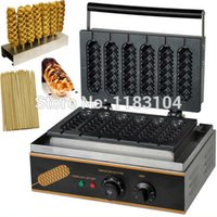 bamboo stick machine - 3 in v v Electric Lolly Waffle Dog Maker Machine Baker Waffle Stick Holder Bamboo Stick