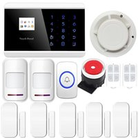 alarm voice dialer - Touch LCD GSM APP PSTN Wireless Wired Voice Home Alarm Security System LCD Auto Dialer