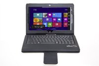 Wholesale For Lenovo ThinkPad tablet inch Removable Bluetooth V3 keyboard and PU Leather Case Cover