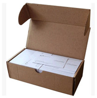 Wholesale cm fashion card paper packing box corrugated board packaging box