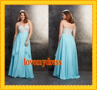Reference Images Sweetheart Organza 2015 New Aqua Nude Lace Chiffon Plus size Prom Evening Dresses Empire Ruffles Sequins Long Sweetheart Formal Gown pageant Dress Custom 2015