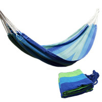 Cheap Hammock Portable Outdoor Swing Fabric Camping Hanging Hammock Canvas Bed for Children indoor recreational crane convenience