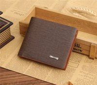 Wholesale 2016 New Lasherweave upscale fashion business men wallet leather wallet
