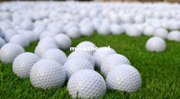 Wholesale Practice Golf Balls Layer Training Ball With Dupont Surlyn Synthetic Rubber Fedex UPS