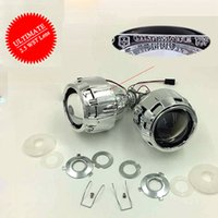 hid light - Ultimate Update HID Xenon Projector Lens inch V W Bi Xenon Auto Lens LHD RHD for H1 H4 H7 Car Headlight