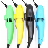 Wholesale Mini USB Port Keyboard Cleaner Keyboard Dust Vacuum Cleaners Brushes Cleaning Tool For PC Laptop Computer