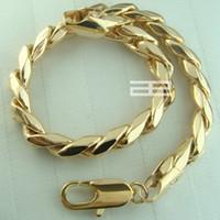 Wholesale Unisex K CT Gold Filled mm Width cm Length New Arrive Bracelet B94
