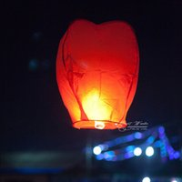 Cheap (6 PCS)SKY Kongming Balloons wishing Lanterns,Flying Light Halloween Lights,Chinese sky Lantern Freeshipping