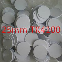 Wholesale 10pcs Waterproof mm x mm RFID KHz Tag PVC Coin Card with TK4100 compatible EM4100 in Access Control
