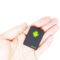 Wholesale GPS Tracker Mini A8 Mini Global Real Time GSM GPRS GPS Tracking Device With SOS Button
