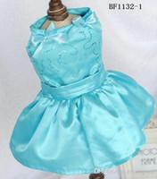 bear wedding dress - shih tzu princess dresses teddy bear summer clothing dog wedding dress female pet spring clothes puppy pretty wear perro apparel