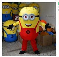 Alta qualità Brand New Cattivissimo Me Minion fumetto del costume della mascotte del fumetto adulto costumi del personaggio mascotte del costume