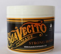 Wholesale 2016 HQ Suavecito Pomade Hair Oil waxes Strong style restoring ancient ways is big skeleton hair slicked back Fast Shipping