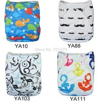 cloth diapers baby - 50pcs NEW ALVA One Size Fits All Reusable and Washable Baby Cloth Diaper