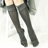 Wholesale Boot Socks Over the Knee High Socks Long Cotton Toe Socks Ladies Women Boot Socks Black Blue Gray Beige