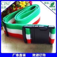 Wholesale Selling factory direct supply PP luggage belt with Italian luggage pp color long ho CR A