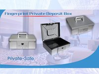 Cheap Portable Fingerprint lock Security Box In Car Home Shop Hotel Roll Bank safe for gun money jewelry document
