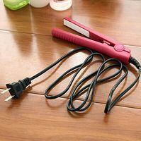 ironing board - Mini electric splint straight hair straightener ceramic hair straightening hair clip ironing board splint