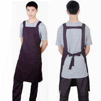 barber apron - Barber Salon Hair Apron Cutting Cape Home Apron Nylon Fabric Red Blue Black Color piece per DHL Free Shipment