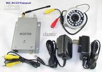 Wholesale 1 Ghz receiver IR LED Outdoor Wireless Night vision waterproof Weatherproof Security CCTV Camera
