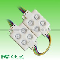 banks stores - Super Bright DC12V W LED RGB Gold Wire SMD5050 LED Chip Colors Change Injection Waterproof Store Company Bank LED Module