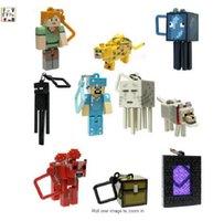 New !! Minecraft keyring Minecraft Minecraft Cabides Cabides Chaveiros Minecraft Brinquedos Suprimentos