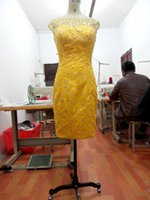 Cheap Vestidos De Noiva 2014 Best Short lace gowns
