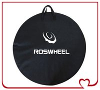 Wholesale ROSWHEEL Bicycle Wheel Bag cm Folding Bike Cycling Single Wheel Package Carry Pouch Bicycle Waterproof Wearable Portable Wheels Bag