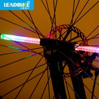 Wholesale Riding bicycle wheels impression DIY programming dead fly bike spokes night ride bicycle lamp lamp equipment
