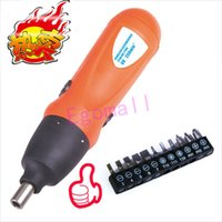 Wholesale Mini RPM V Electric Screwdriver Cordless Battery Power Screwdriver Tools x Slot PH Torx Screwdriver Bits S1107