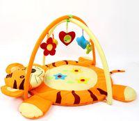 Wholesale Baby Toy Kids Play Mat Tapete Infant Cotton Crawling Mat Cartoon Tiger Game Play Gym Blanket Carpet Year