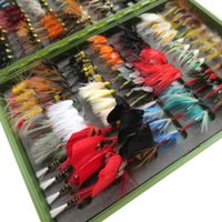 Wholesale dozen vintage dry and wet fly lure bass bait lure stream trout fishing