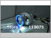 HID proyector lente Kit Bi-xenon HID angel ojos luces de xenón H4 Bixenon de faros
