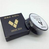 28 gauge kanthal wire - vapor tech Kanthal A1 Resistance Wire Feet Gauge Heating premade coil Wire DIY box mod RDA RBA atomizer