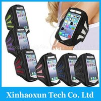 Wholesale Armband for iPhone Running SPORT GYM Armband Case for iPhone S C S Solf Belt Eco frienldy Material Jogging Arm Band