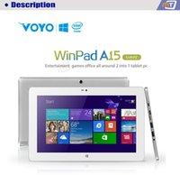 winpad - 11 inch Windows VOYO WinPad A15 Deluxe Version Tablet PC IPS Screen Intel Z3775 Quad Core GHz GB RAM GB ROM WiFi Bluetooth