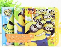best notebook lock - Hot Despicable Me Notebook Locks Children Cute School Supplies For Best Gifts