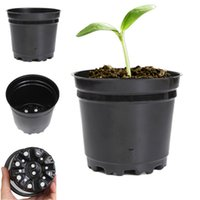 Wholesale New Arrival inch Round Black Nursery Pot Plastic plants pot thermoformed order lt no track