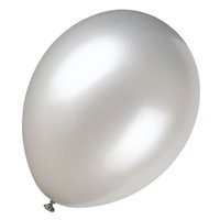 balloons pearlized - FS Hot quot Pearlized Shimmering Silver Balloons for Party Decoration order lt no track