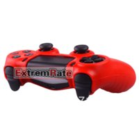 15 Styles 1 PCS Silicone Gel Rubber Case Skin Grip Cover pour Playstation 4 PS4 Controller Red Dropshipping