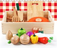 Wholesale Wooden kitchen earnestly look earnestly Children play wooden toys Kitchen Toys Early childhood educational toys marvel select