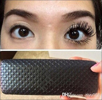 Wholesale 2pcs set Hot sale D FIBER LASHES MASCARA Set Makeup lash eyelash waterproof double mascara with gift box