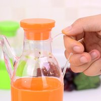honey bottles - kitchen supplies spice bottle transparent plastic seasoning sauce pot with lid oil honey jam ketchup cream cruet jar GJ135