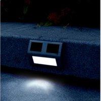 outdoor led security light - garden decoration LEDs Solar Powered Sensor solar Light Outdoor step lamp Security Garden Lamp IP44 Waterproof