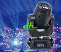 auto tv shows - 2015 Limited Real w Led Gobo Moving Head Lights Spotlights Nightculb Bar Tv Ktv Show Stage Effect Sound Dmx l