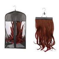 bag hanger stand - Hair Extension Carrier Storage Suit Case Bag and Hanger Wig Stands Hair Extensions Hanger Hair Extensions Bag
