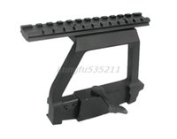Wholesale Tactical hunting accessories mm mounts side rails Locks scope Mount base accessories
