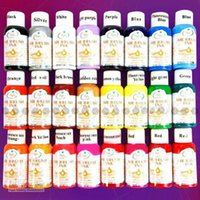 Wholesale Colours ml Nail Art Airbrush Paint Ink For D Painting Design Full Set