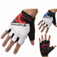gloves - High Breathable Lycra Fabric Gloves Protective Bike Sport Gloves Motorbike Racing Gloves Motorcycle Men Racing Bike Bicycle Cycling Gloves